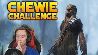 """""""15 Kills With Chewie Without Shooting And I Work For You"""" - Battlefront 2"""