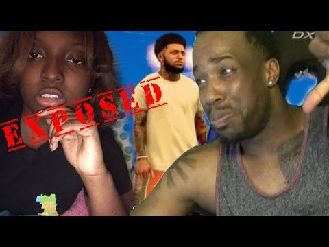 GETTING CALLED OUT BY GIRL PARK PLAYER! SOMEONE GOT EXPOSED BAD! NBA 2k17 MyPark Gameplay