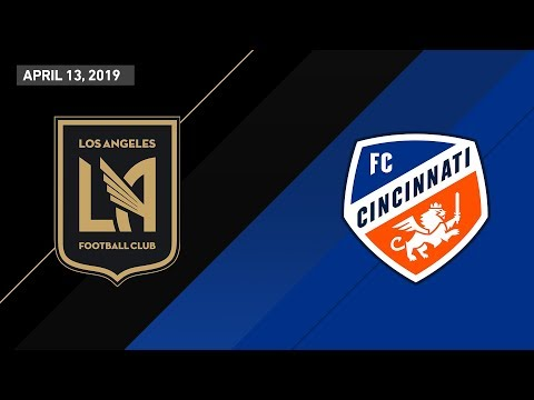 LAFC vs. FC Cincinnati | HIGHLIGHTS - April 13, 2019