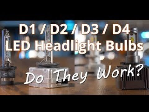 D1S And D2S LED Headlight Bulb Replacements - Are They Brighter Than HID? | Headlight Revolution
