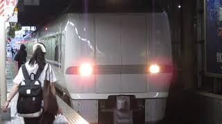 特急しらさぎ64号米原行681系金沢駅発車