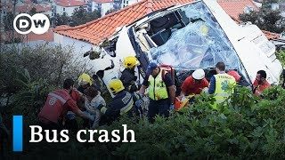 Portugal: 29 killed in devastating bus crash on Madeira | DW News