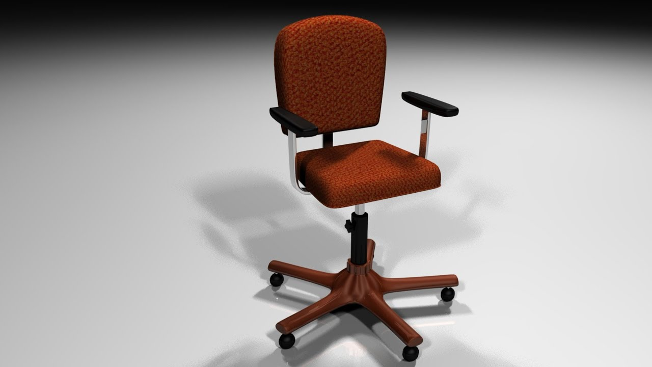 Maya Tutorial : How To Model And Rig And Office Chair ( Part 1 Of 2 )    YouTube