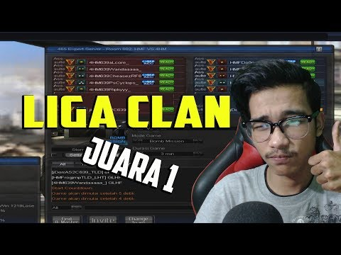 JUARA 1 LIGA CLAN WEDNESDAY !!! LUMAYAN BUAT MAKAN SOMAY WKWKWK   POINT BLANK GARENA INDONESIA