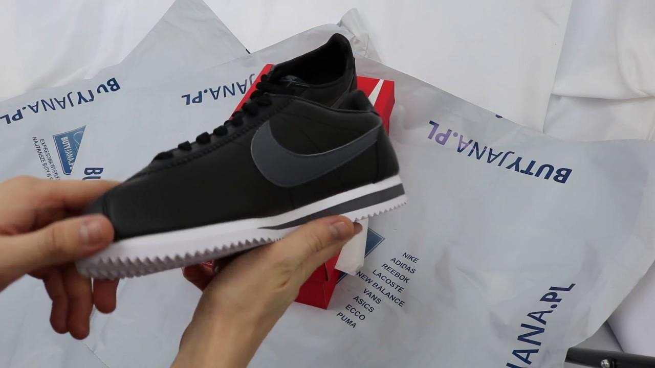 f11f25821a18bb Nike Classic Cortez Lth 749571-011   Butyjana.pl - YouTube