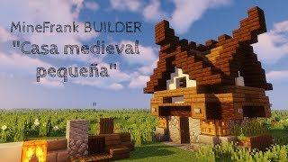 Casa medieval pequeña MineFrank BUILDER Minecraft 1 14