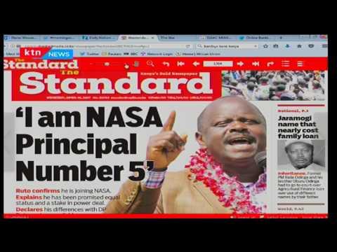 Incumbent Nyamira Governor-John Nyang