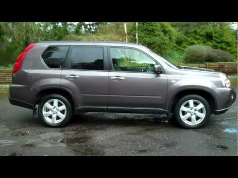 Nissan X Trail 2 0 DCi Aventura 6 Speed 150 BHP 2009 59 Thundercloud Grey
