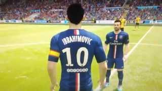 Fifa 15 Ibrahimovic Face & Stats Thumbnail