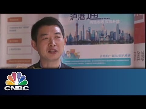 Chinese Investors on Shanghai-HK Trade Link | Inside China