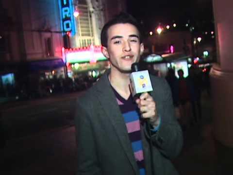 In the Castro with Steven Sloan of Gay Club TV