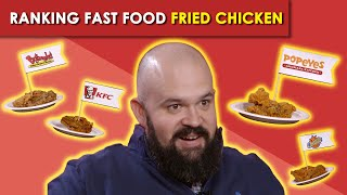 Ranking Fast Food Fried Chicken | Bless Your Rank