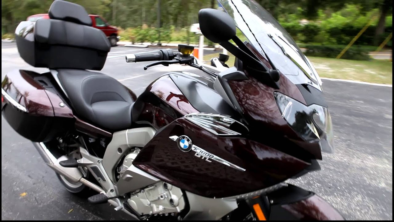 2013 BMW K1600GTL in Red at Euro Cycles of Tampa Bay