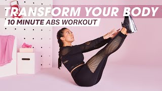 Transform Your Abs With This 10-Minute Workout | Transformations | Women's Health