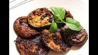 #Eggplant Fry Recipe   Baingan Fry Recipe   Pan Fry Eggplant Recipe   Pan Frying Brinjal  