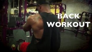 Phenom Fitness Back Workout W/supersets