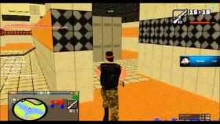 Counter Strike mod on GTA San Andreas online !