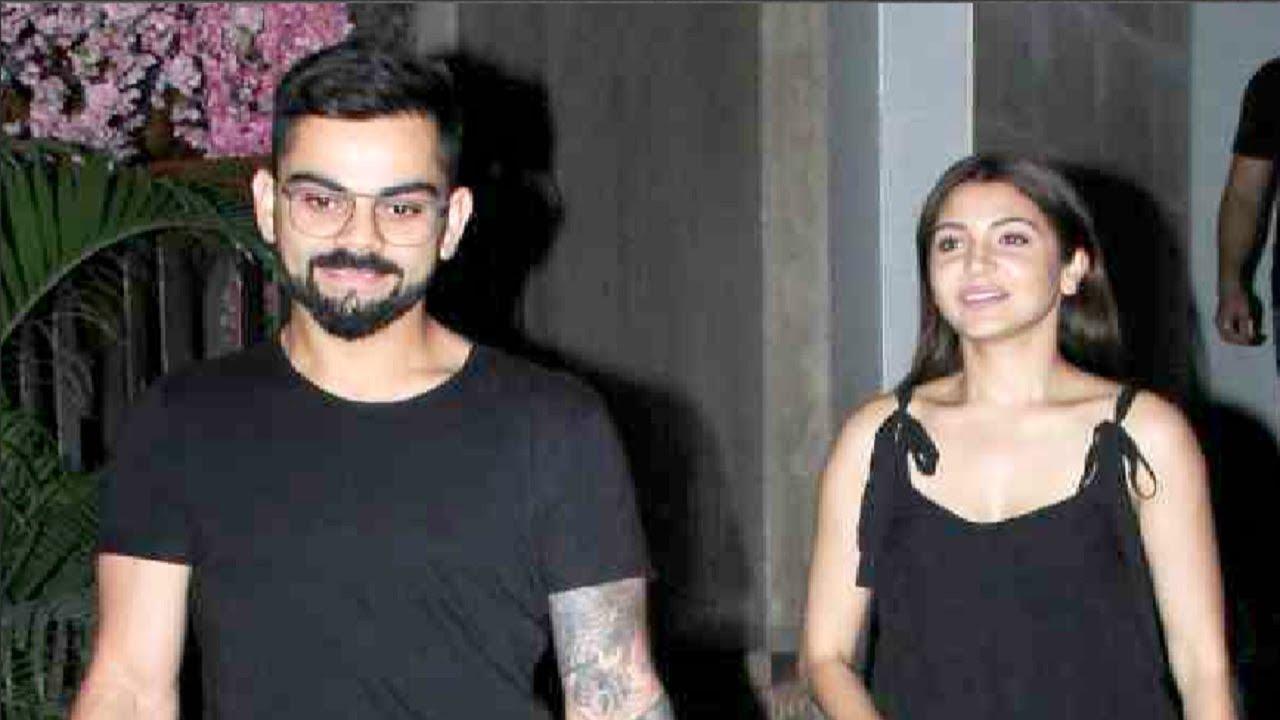2fee0a6cb07 Virat Kohli Takes Anushka Sharma For Romantic Dinner Date - YouTube
