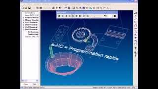 Présentation générale du logiciel e-NC (Opti-Machines)