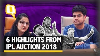 Gayle, Big Buys, Steals: 6 Highlights From IPL Auction 2018 | The Quint