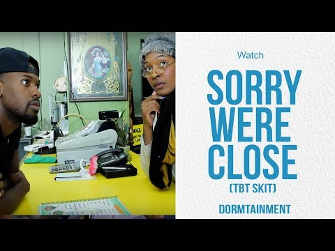 Sorry We're Closed | DT Throwback Skit