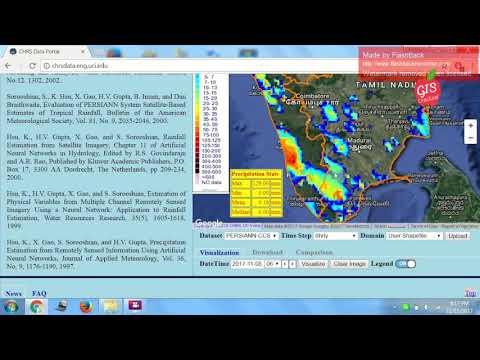 Download Rainfall Data From CHRS Data Portal !!!!!!!!!!!!!!!!!