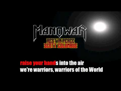 Warriors of the World United by Manowar   KARAOKE