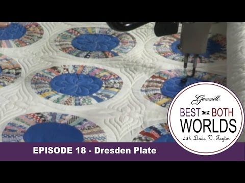 Best of Both Worlds 18 - Expanded Dresden Plate