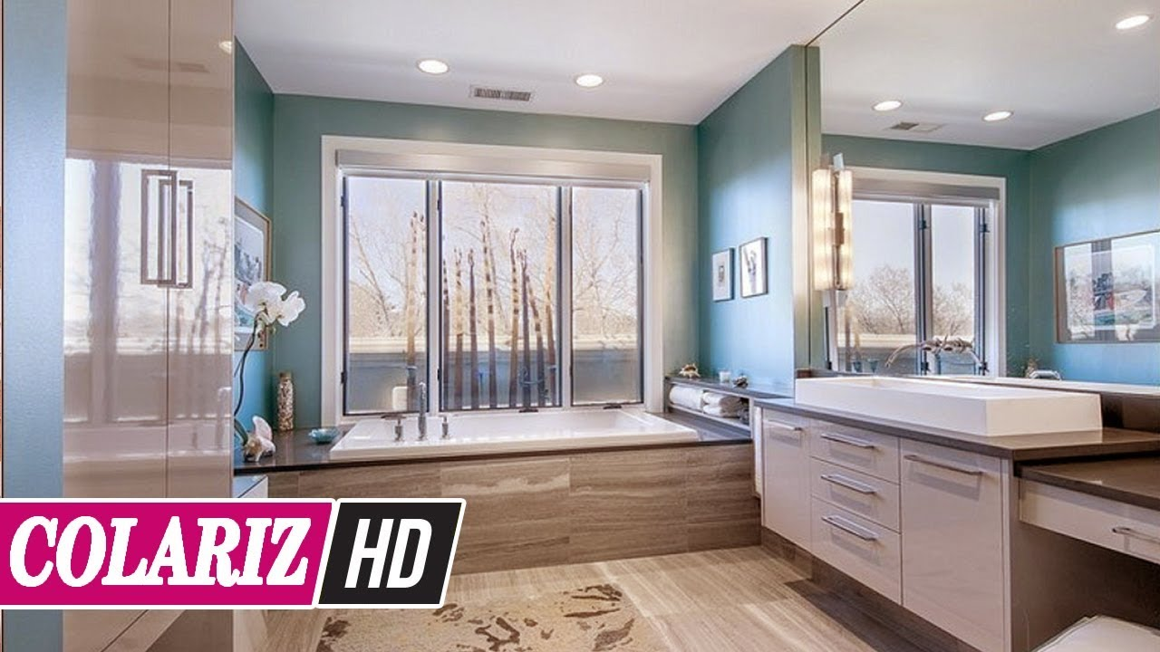 Bathroom Paint Designs | Must Look 45 Stylish Bathroom Paint Color Ideas To Make The Most