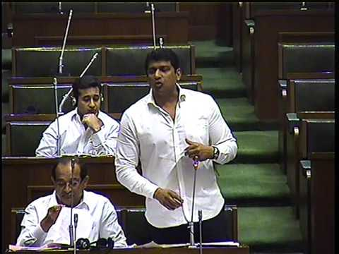 MLA Aslam Shaikh speech during Maharashtra Budget Session - 2016..