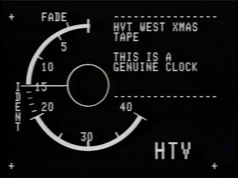 HTV West Xmas Tape 1987