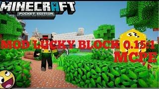 MOD Da Lucky Block MCPE 0 15 1