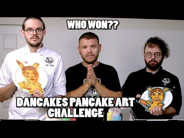 PANCAKE ART CHALLENGE, DANCAKES EDITION! Episode 3: PIKACHU, SHREK, NIGEL THORNBERRY