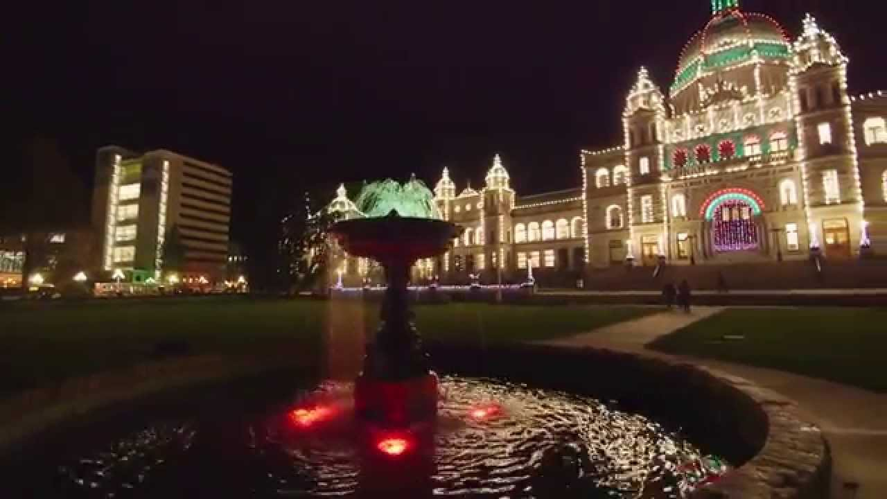 British Columbia: Christmas in Victoria from a Local's Perspective