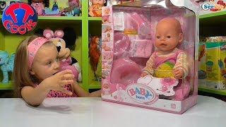 кукла Беби Борн и Ярослава. Распаковка и обзор Интерактивной Игрушки  Сова. DigiOwls Toy
