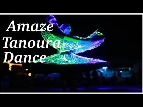 Tanoura dance in Dubai desert camp