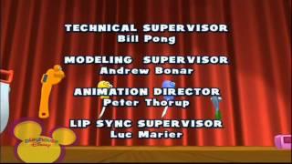 Playhouse Disney Scandinavia - HANDY MANNY - Ending Credits / Outro