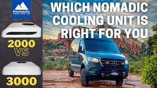 Nomadic Cooling 2000 vs 3000