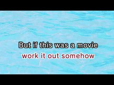 Taylor Swift - If This Was A Movie (Karaoke and Lyrics Version)