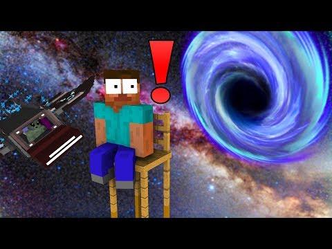Monster School : HEROBRINE LOST IN SPACE - Minecraft Animation