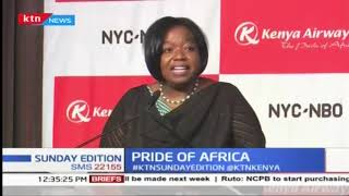 Pride of Africa : Celebrating non-stop flights from Kenya to USA