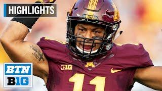 Highlights: Antoine Winfield Jr. Enters 2020 NFL Draft   Minnesota   B1G Football