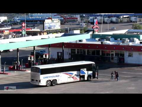 Greyhound Bus Station, USA Travel Center, NEW