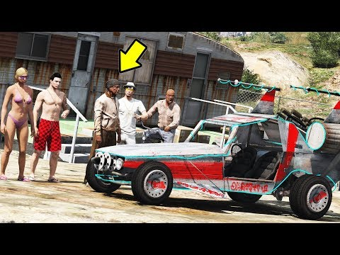 GTA V : VIDA REAL - DEI O CARRO PRO TAPITA E OLHA O QUE ACONTECEU!!!!!! - #144