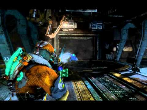 Dead Space 3 - One of my Favourites, Heavy Standard Seeker Rifle with Ground Diffractor
