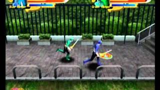 Power rangers samurai playthrough coop (Blind) pt 1