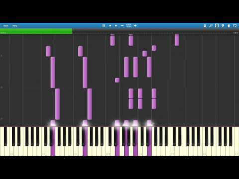 Song of Storms - Legend Of Zelda : Ocarina Of TIme (Piano Cover) [Synthesia]