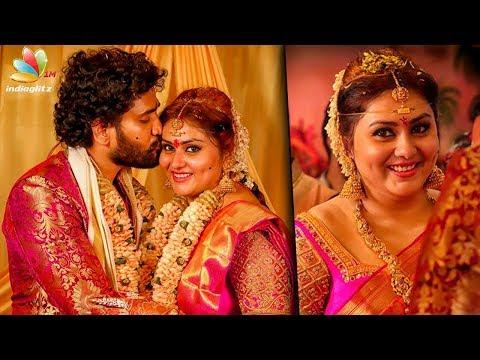 Marriage Video : Actress Namitha Weds Veerandra Chowdhary in Tirupati   Bigg Boss Contestant