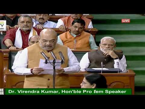PM Narendra Modi witnesses Amit Shah 's oath taking in Lok Sabha