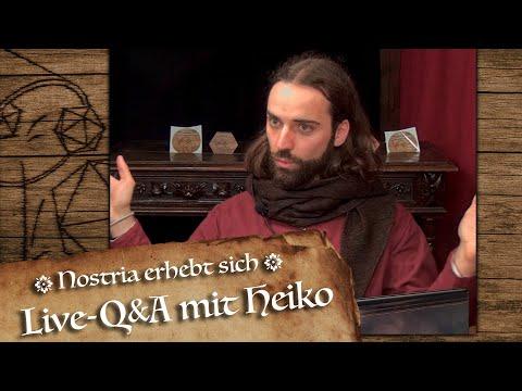 Live Q&A mit Heiko am 15.Oktober 19 Uhr
